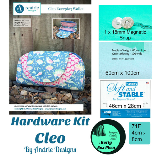 Andrie Designs - Cleo - Soft n Stable Kit