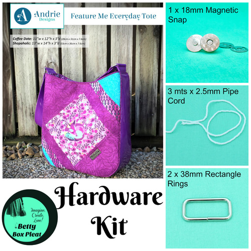 Andrie Designs - Feature Me Tote