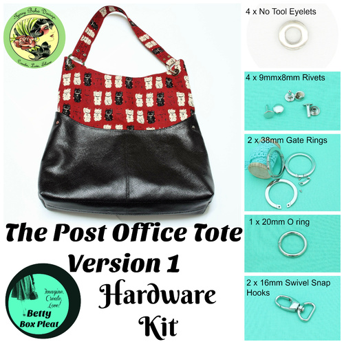 GBD - The Post Office Tote - Version 1 - Hardware Kit