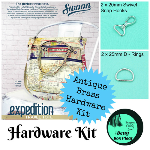 Swoon - Expedition Tote - Ant/B Hardware Kit